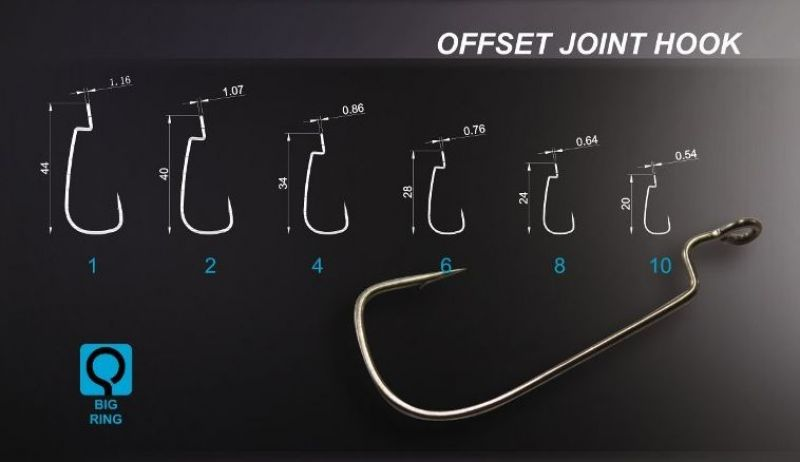 Offset Joint Hook