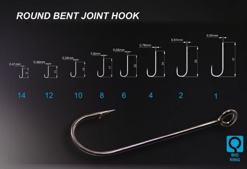 Round Bent Joint Hook